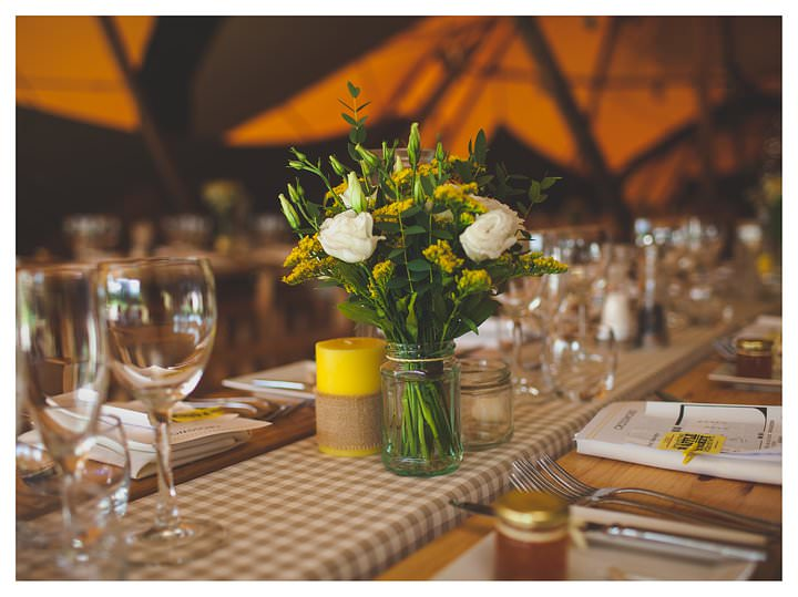 Emma & Luke | Derbyshire Teepee Wedding 411