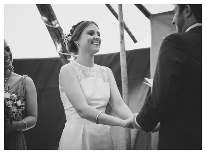 Emma & Luke | Derbyshire Teepee Wedding 461