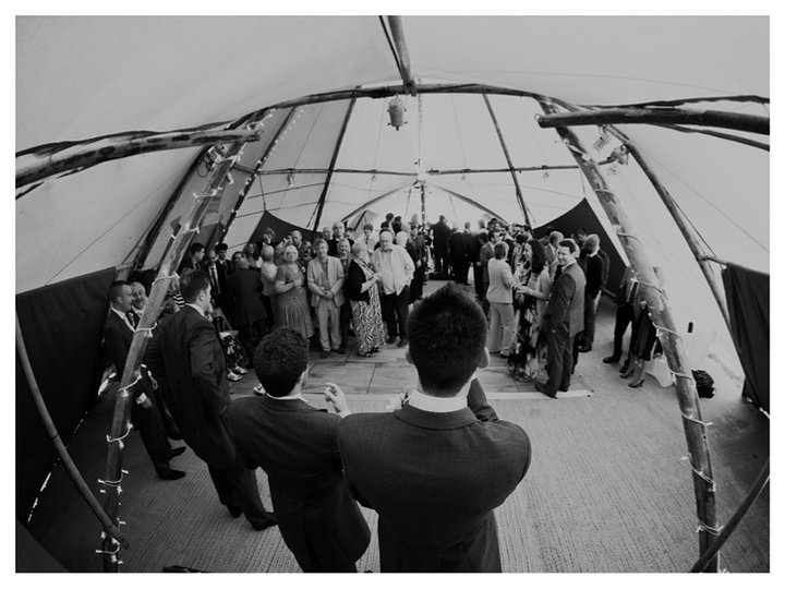 Emma & Luke | Derbyshire Teepee Wedding 67