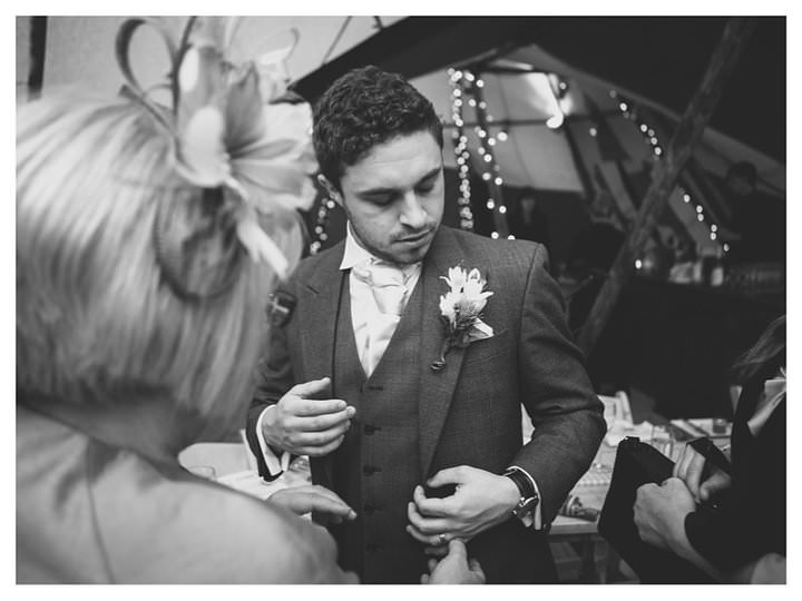 Emma & Luke | Derbyshire Teepee Wedding 440