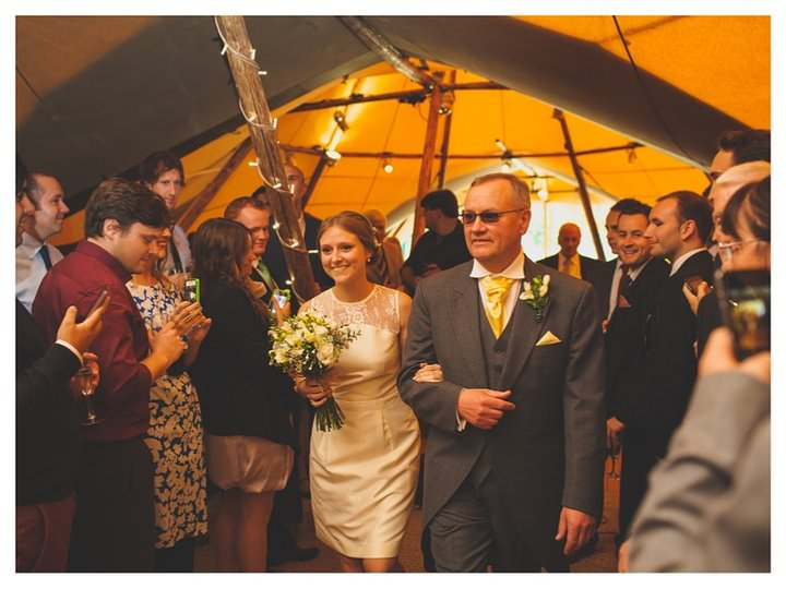 Emma & Luke | Derbyshire Teepee Wedding 453