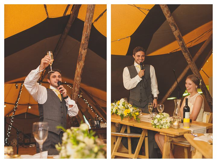 Emma & Luke | Derbyshire Teepee Wedding 98