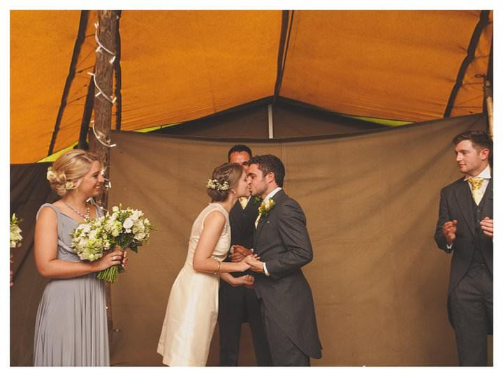 Emma & Luke | Derbyshire Teepee Wedding 463