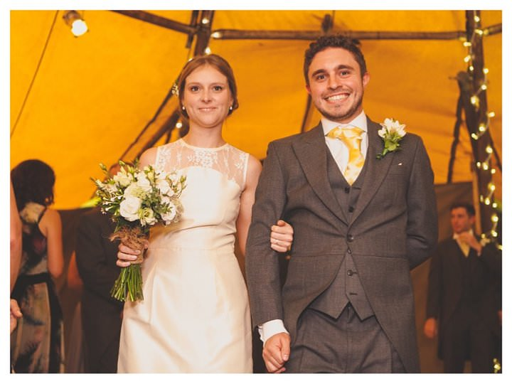 Emma & Luke | Derbyshire Teepee Wedding 464