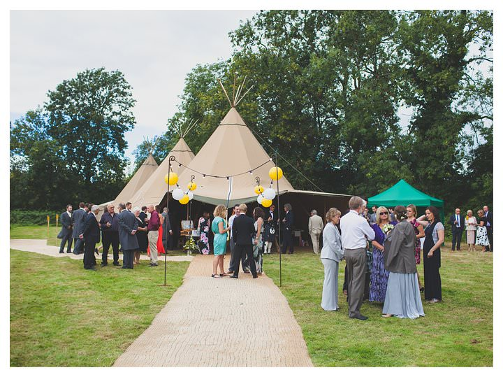 Derbyshire Teepee Wedding