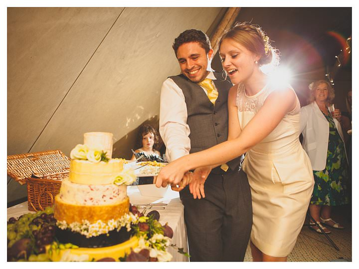 Emma & Luke | Derbyshire Teepee Wedding 508