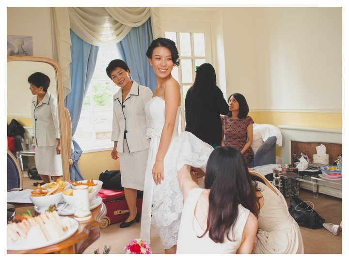 Hong & Jim wedding at Friern Manor 14