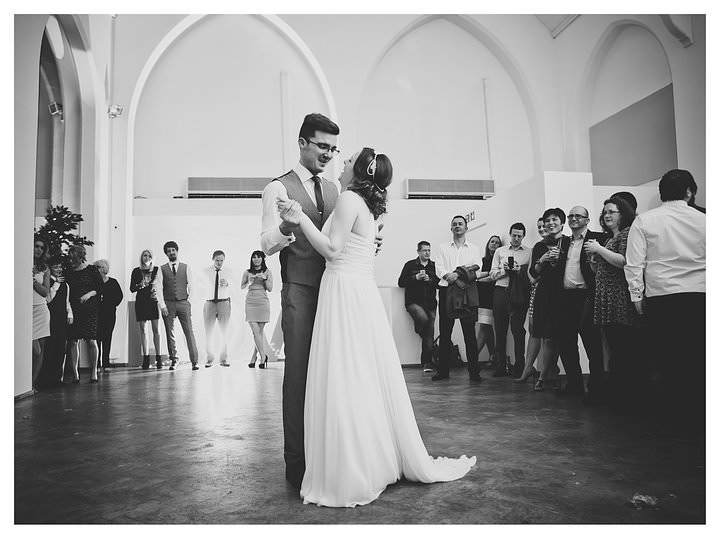 Adam & Louise - wedding at The Custard Factory in Birmingham 75