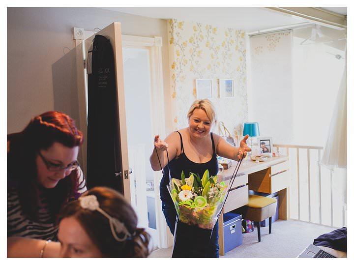 Adam & Louise - wedding at The Custard Factory in Birmingham 2