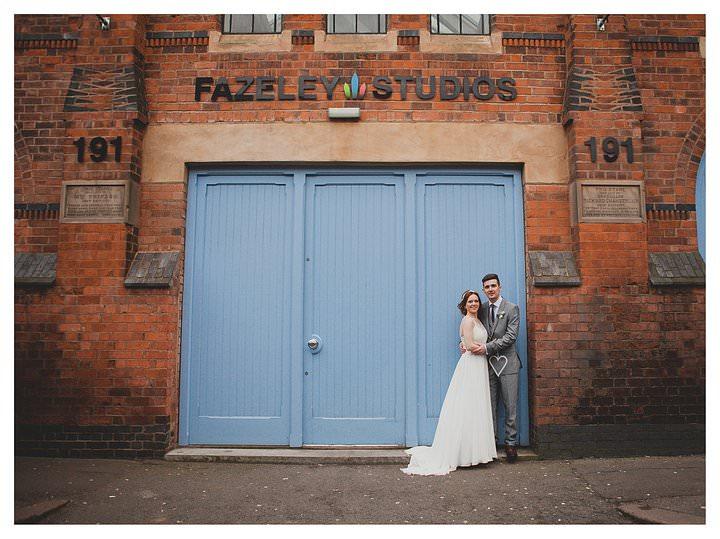 Adam & Louise - wedding at The Custard Factory in Birmingham 57