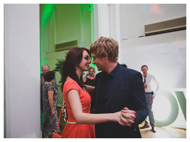 Adam & Louise - wedding at The Custard Factory in Birmingham 77