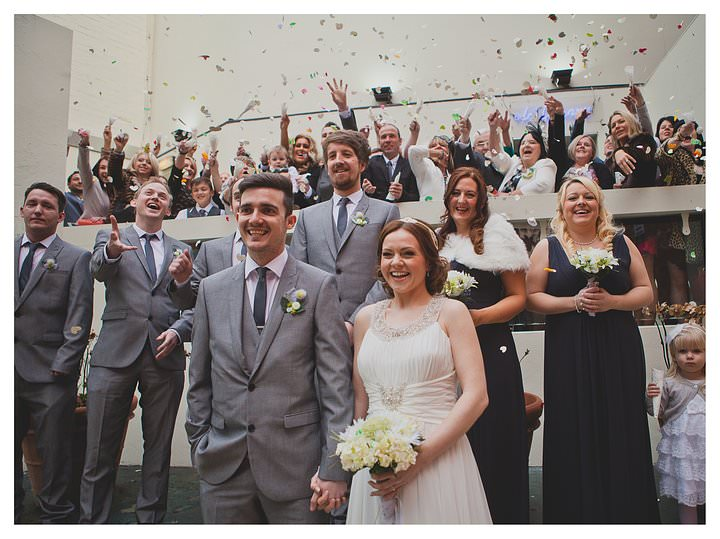 Adam & Louise - wedding at The Custard Factory in Birmingham 41
