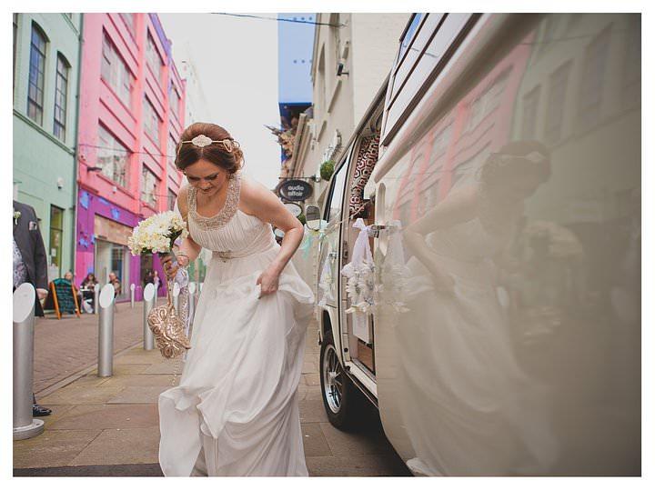 Adam & Louise - wedding at The Custard Factory in Birmingham 30
