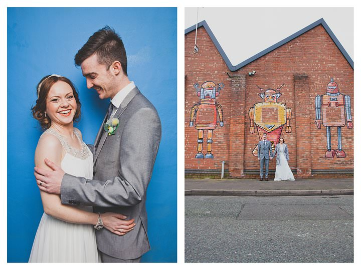 Adam & Louise - wedding at The Custard Factory in Birmingham 56