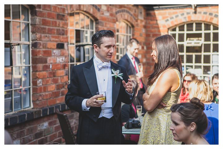 Simone and Marcus' wedding at The Drop Forge 90