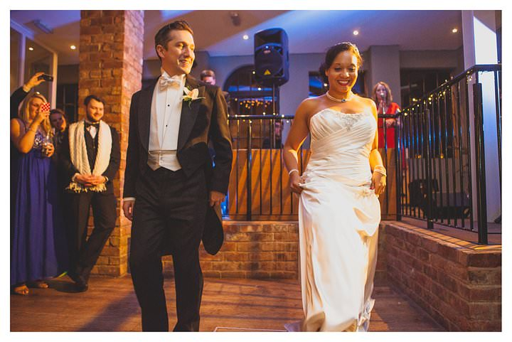Simone and Marcus' wedding at The Drop Forge 515