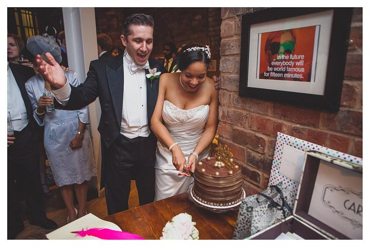 Simone and Marcus' wedding at The Drop Forge 508