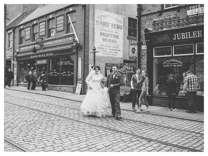 Sophie & Thomas - A wedding in Beamish 77