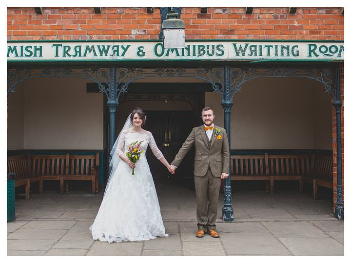 Sophie & Thomas - A wedding in Beamish 78