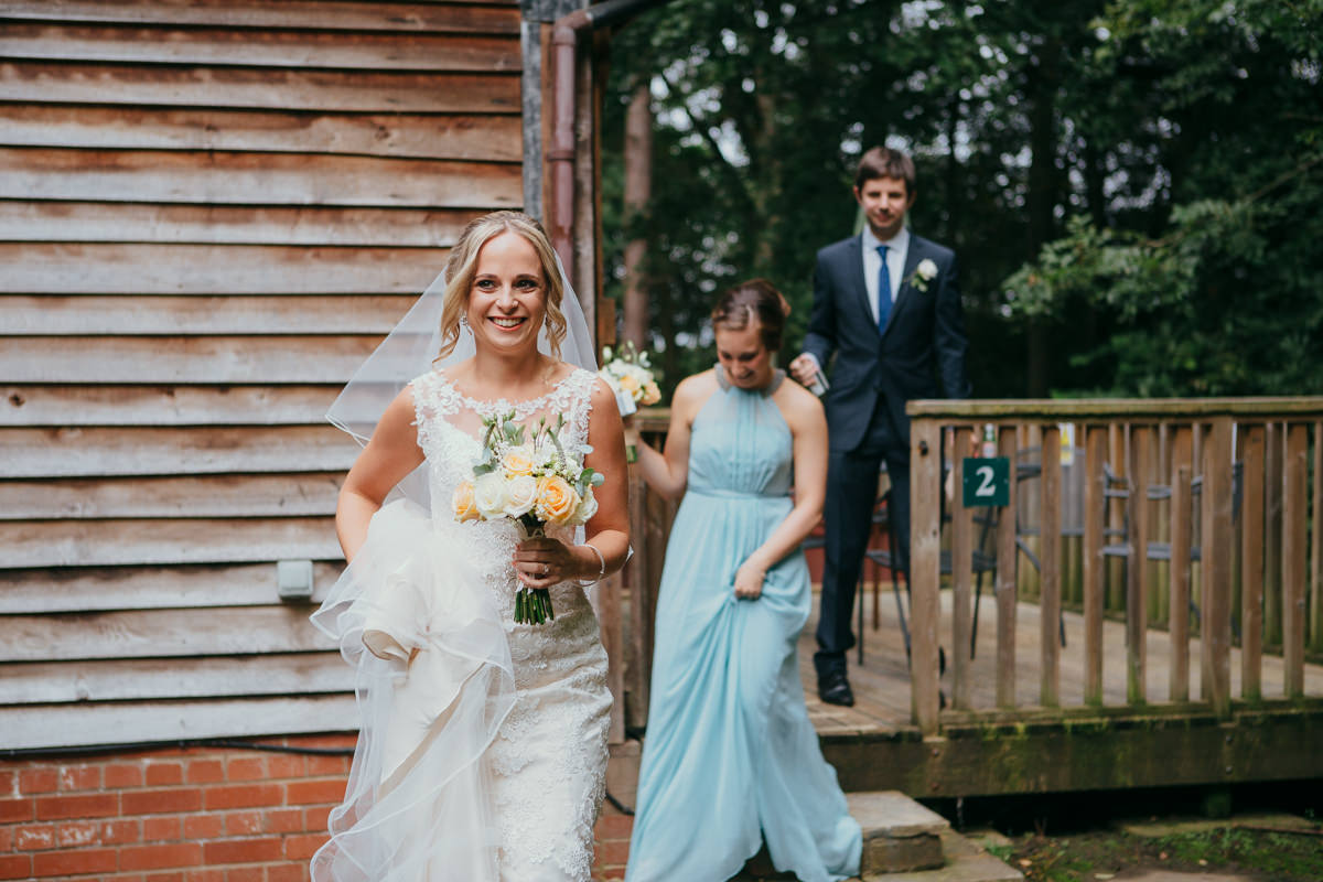 wedding at sandburn hall