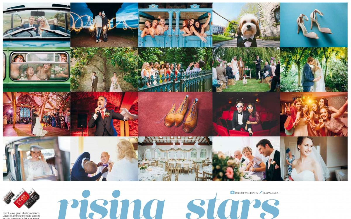 Bloom Weddings in Professional Photo Magazine