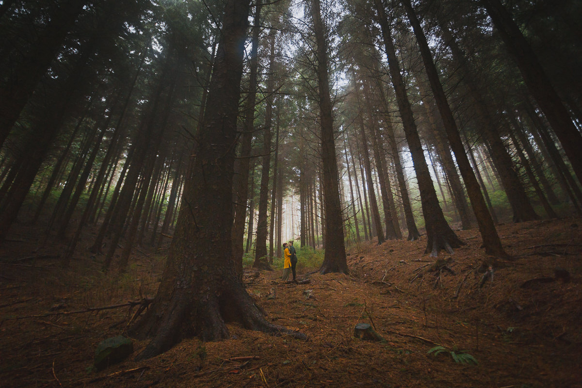 Dalby forest wedding