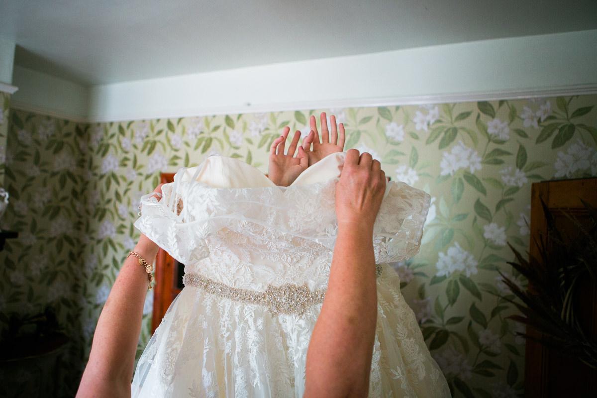 Chequers Ledsham Wedding-16