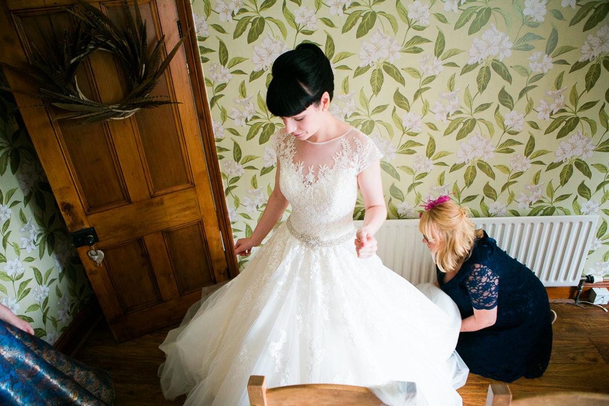 Chequers Ledsham Wedding-20