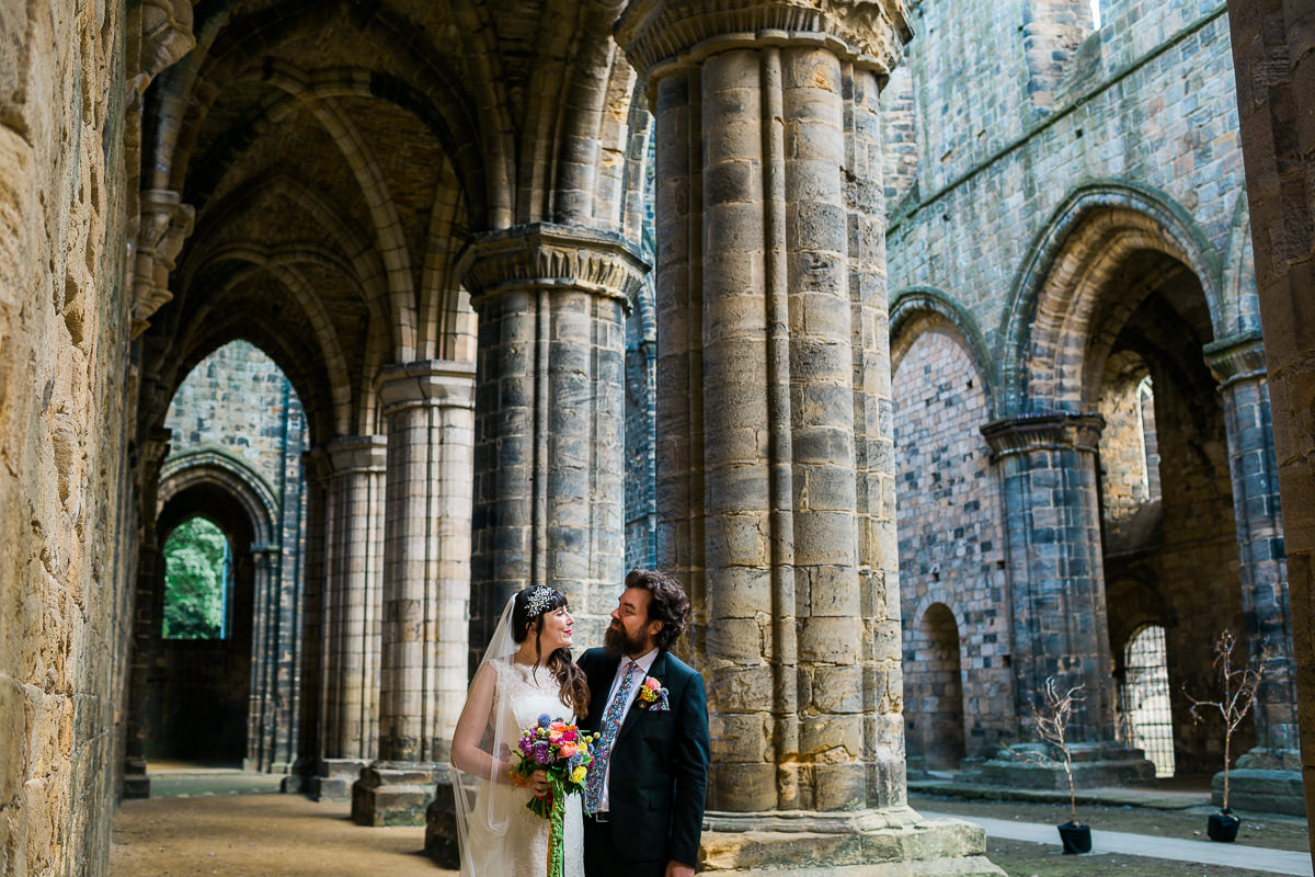 Kirkstall abbey Wedding