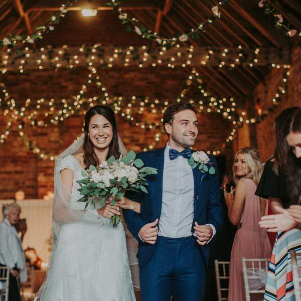 Natalie & Bill   Barmbyfield Barns Wedding