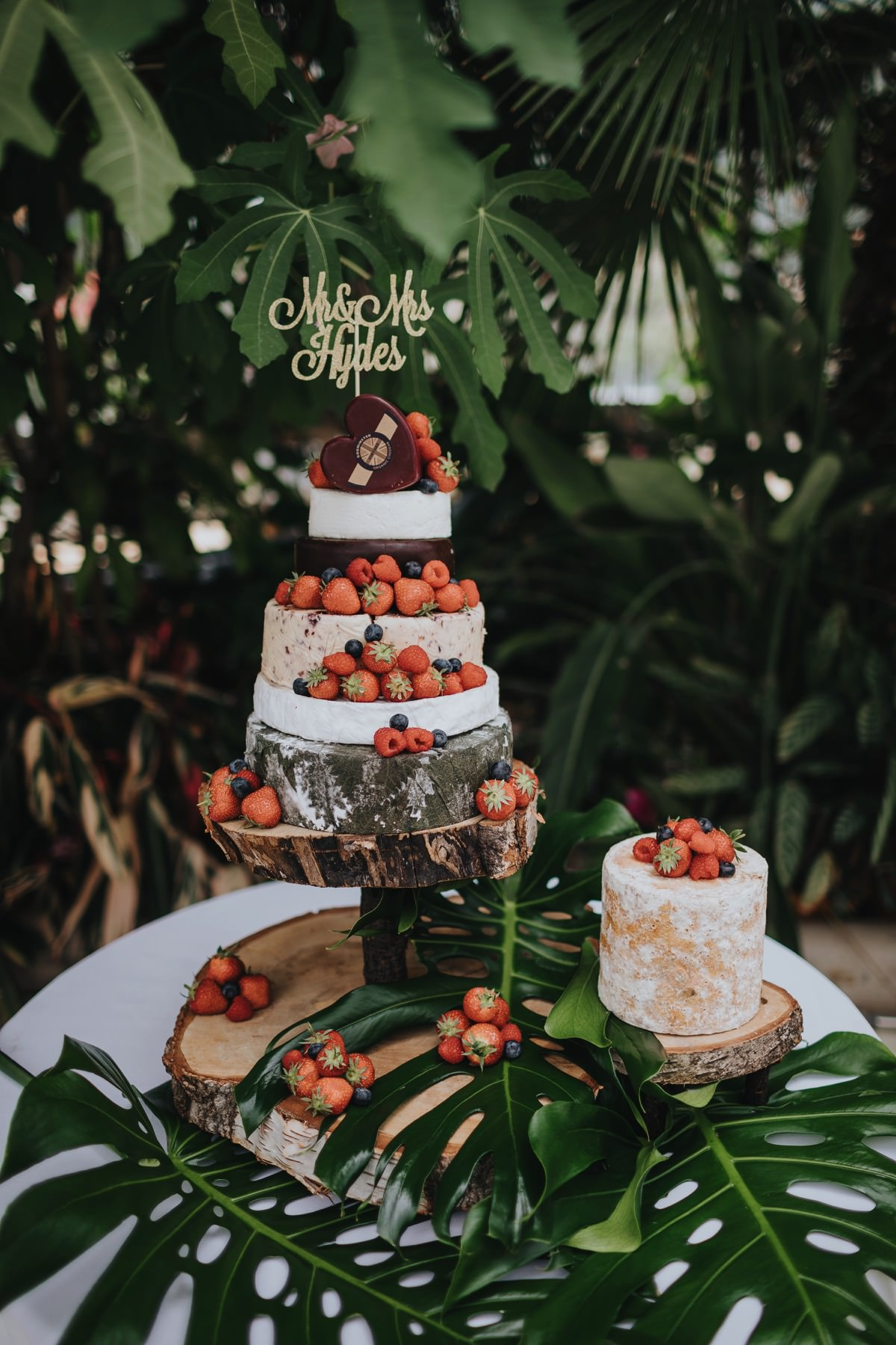botanical themed wedding