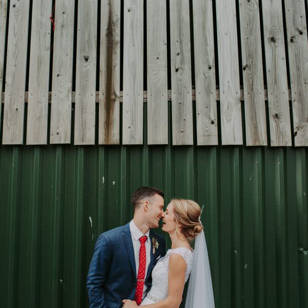 Claire & Randall | Sandhole Oak Barn Wedding