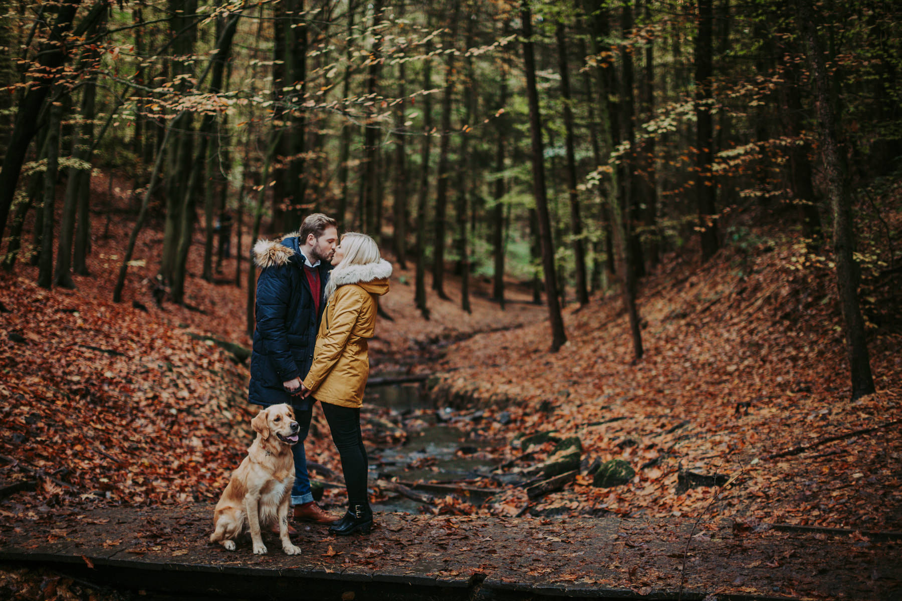 Emily & Phil | Newmillerdam engagement shoot 29