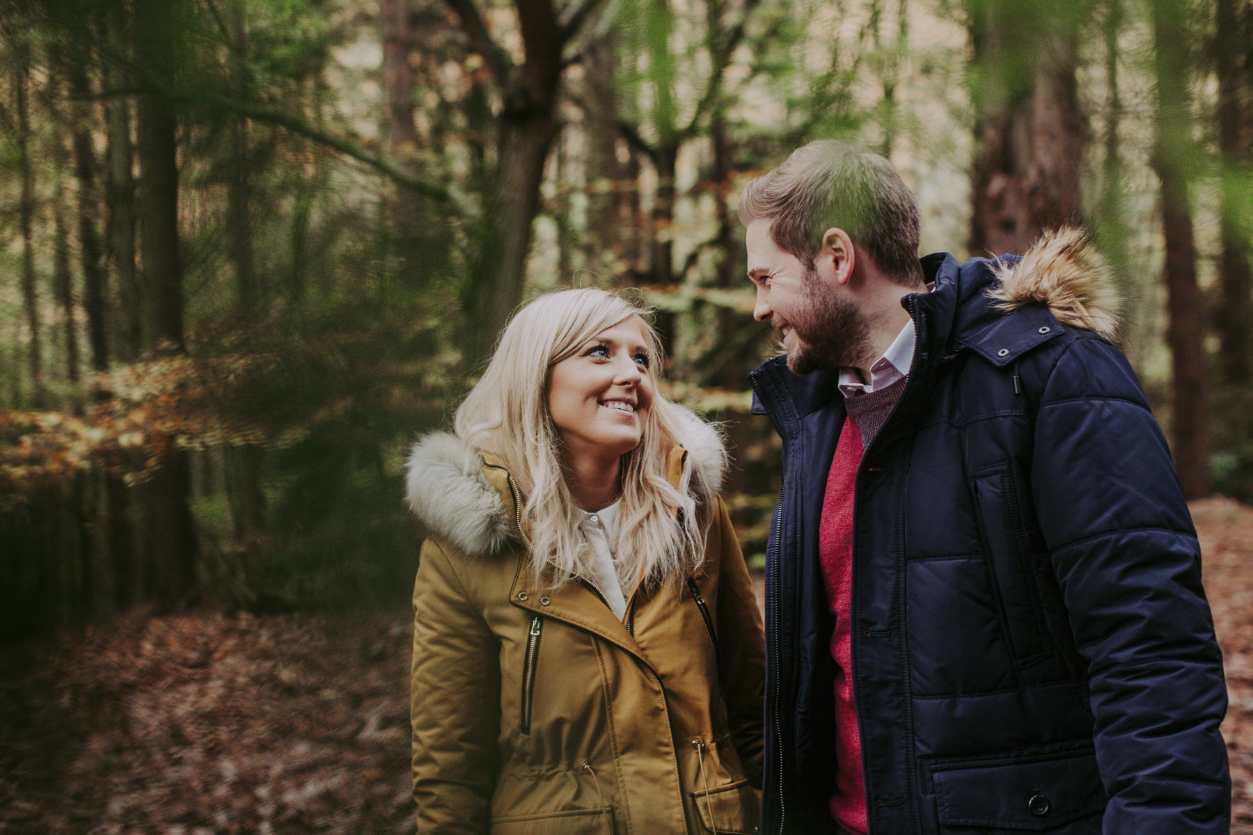 Emily & Phil | Newmillerdam engagement shoot 32