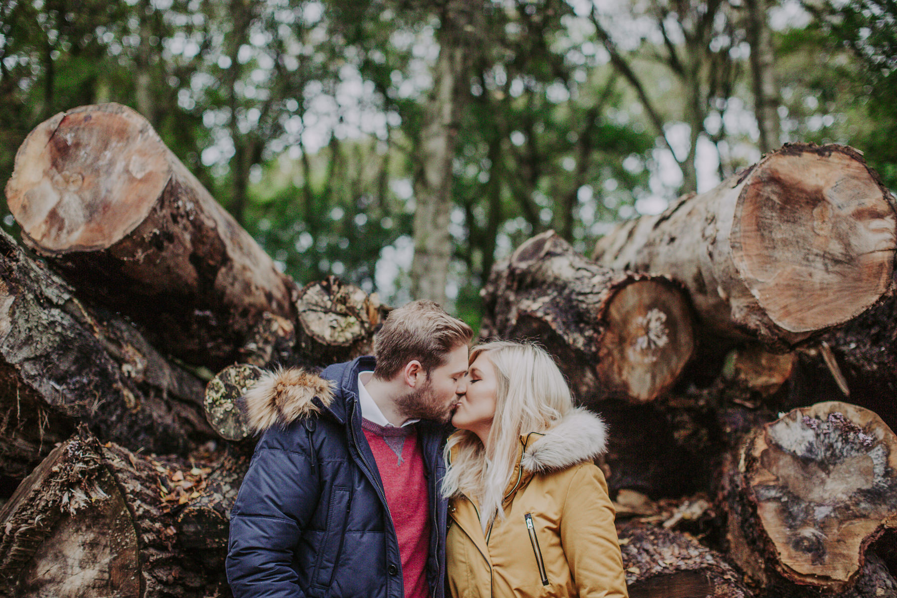 Emily & Phil | Newmillerdam engagement shoot 36