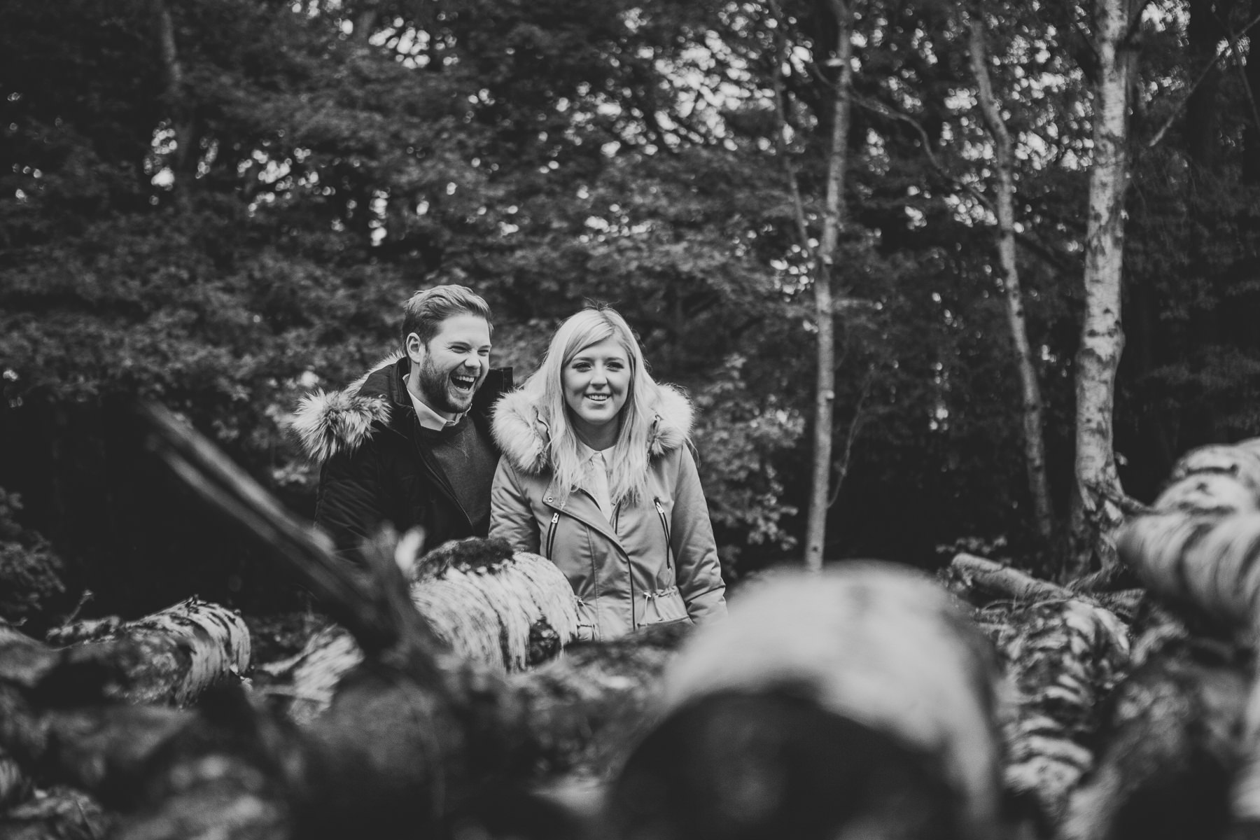 Emily & Phil | Newmillerdam engagement shoot 38