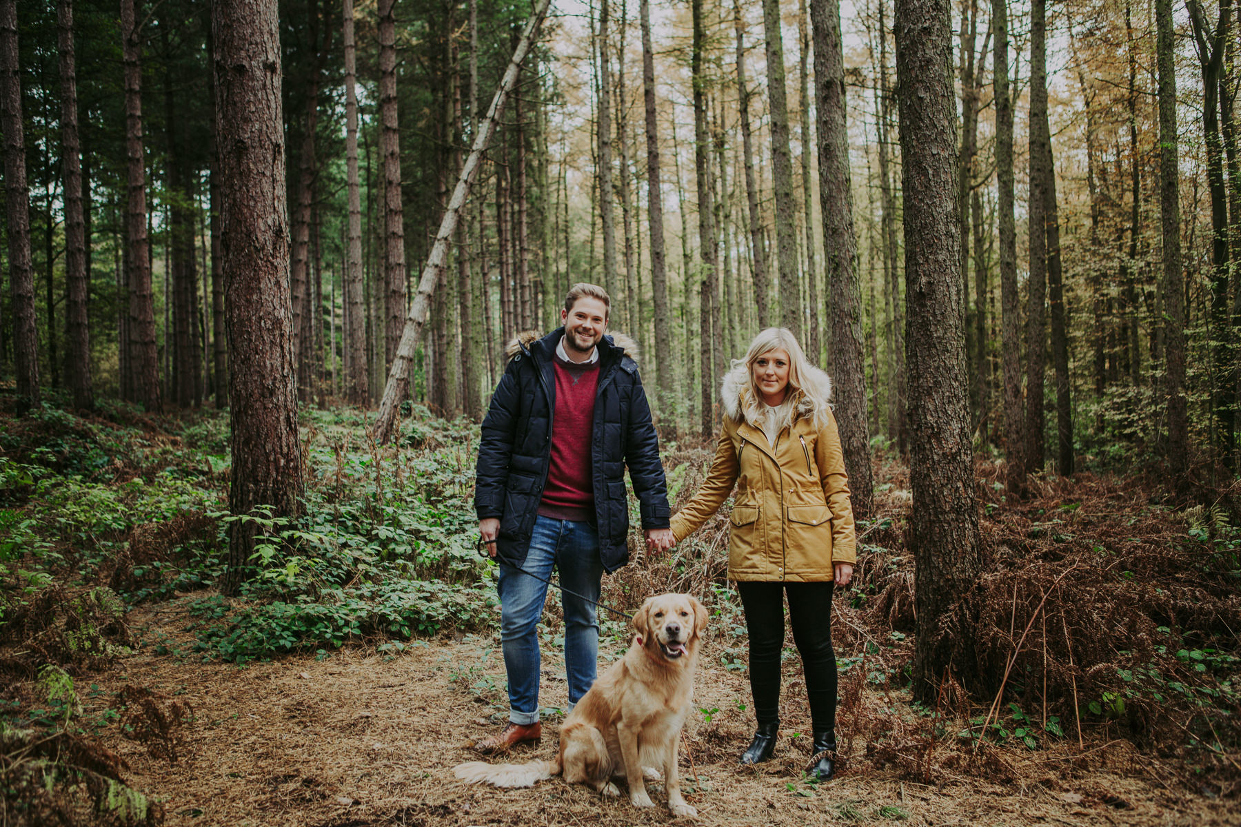 Emily & Phil | Newmillerdam engagement shoot 26