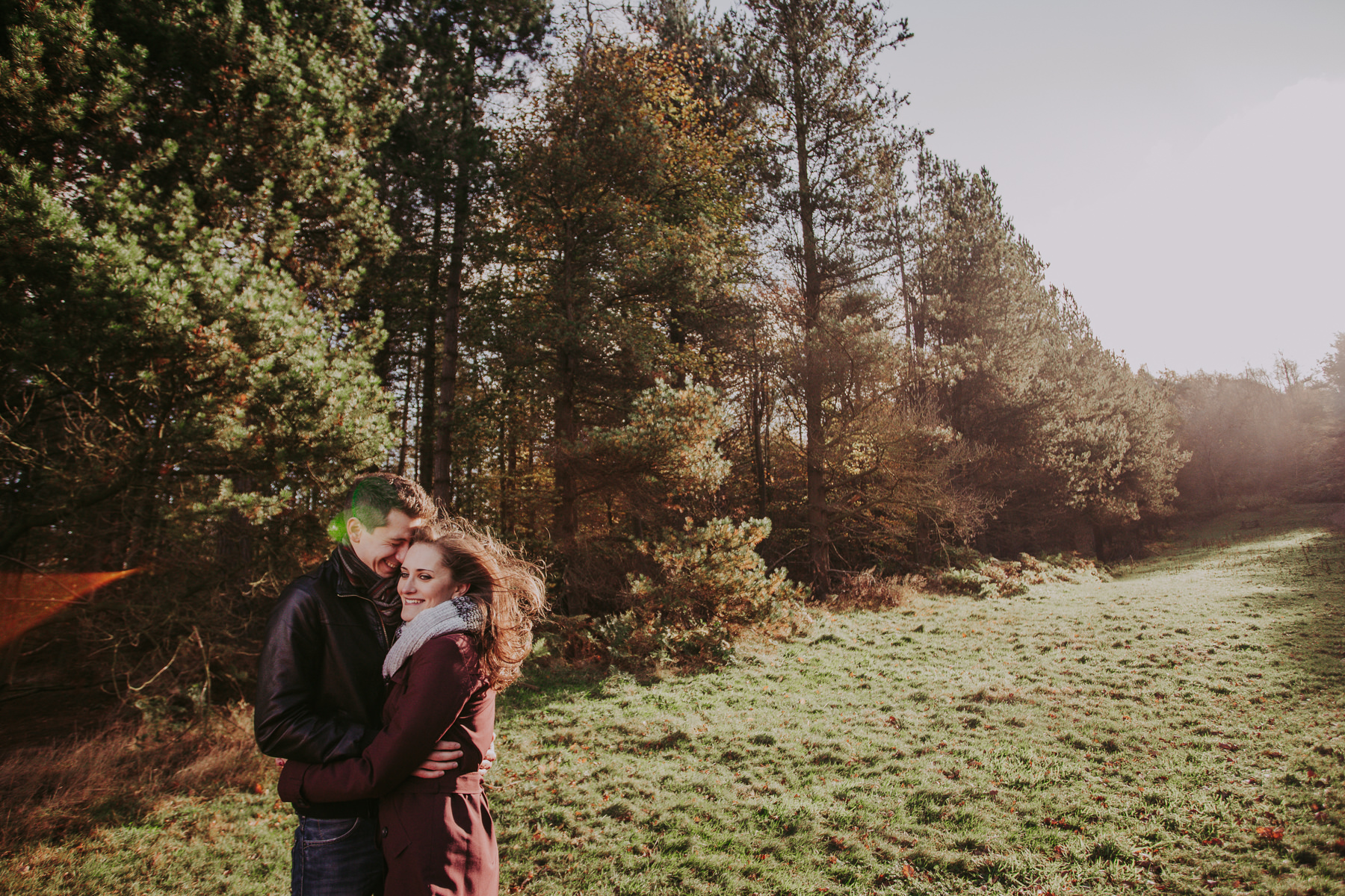 Engagement shoot Yorkshire