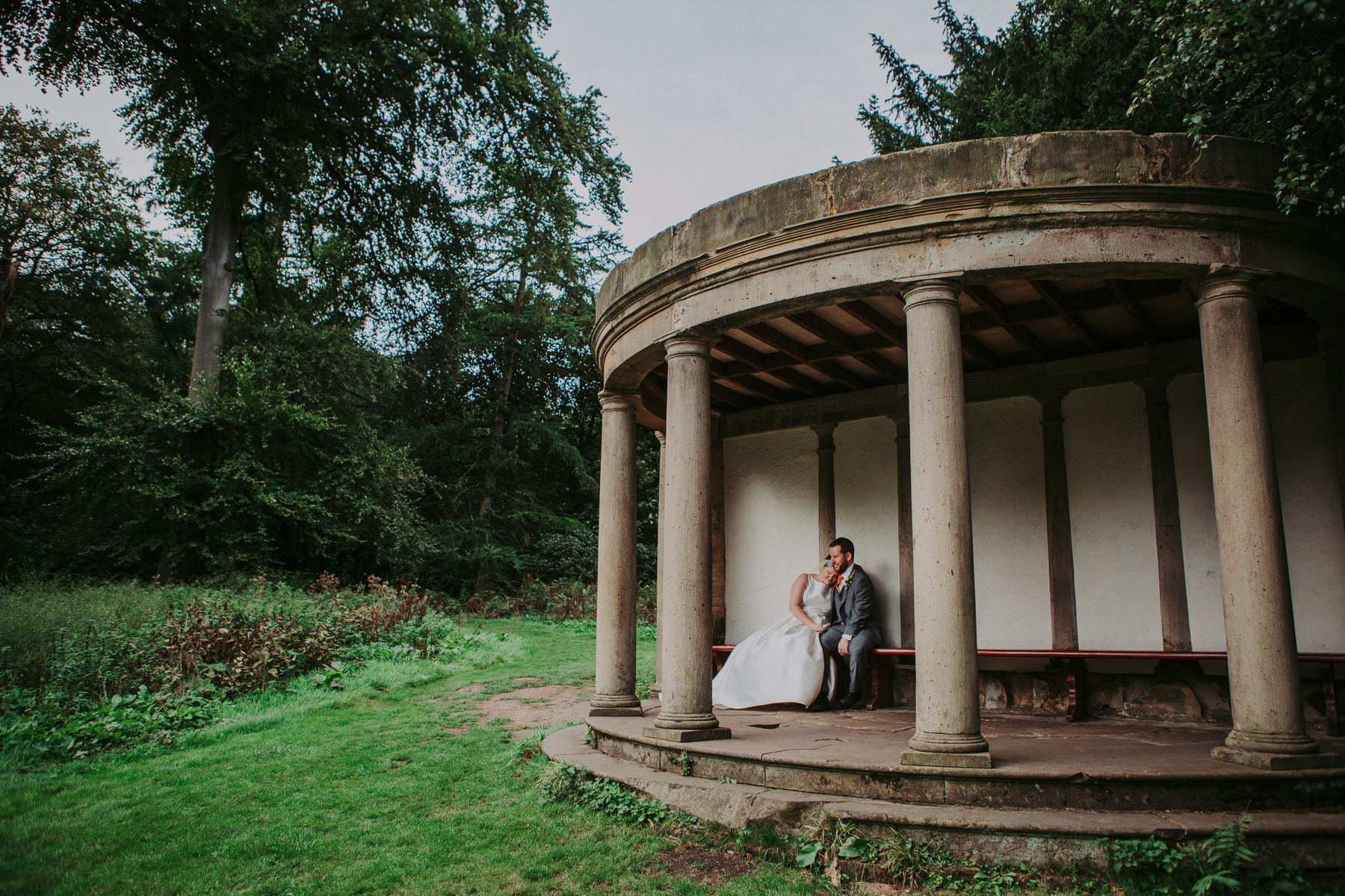 Laura & Adam | Yorkshire Sculpture Park Wedding 60