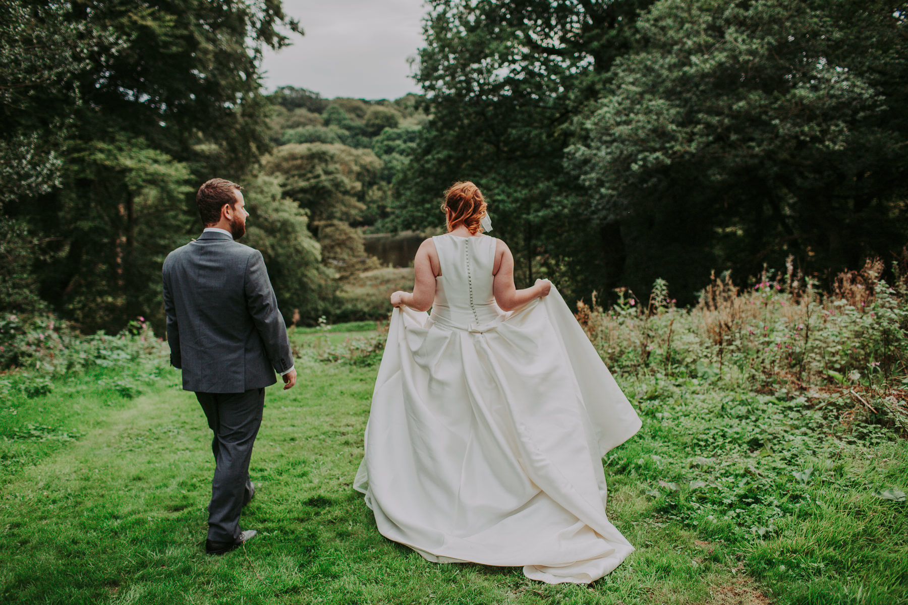 Laura & Adam | Yorkshire Sculpture Park Wedding 61