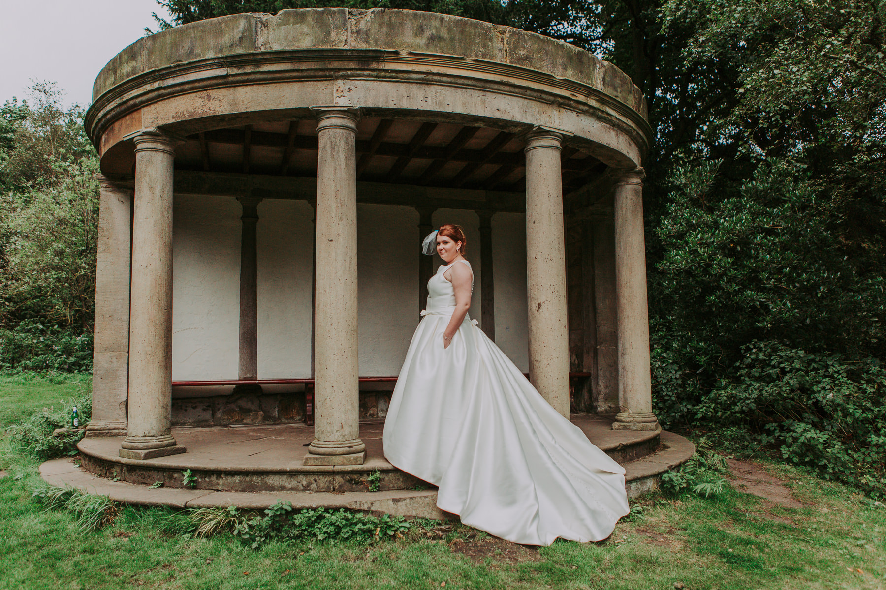 Laura & Adam | Yorkshire Sculpture Park Wedding 63