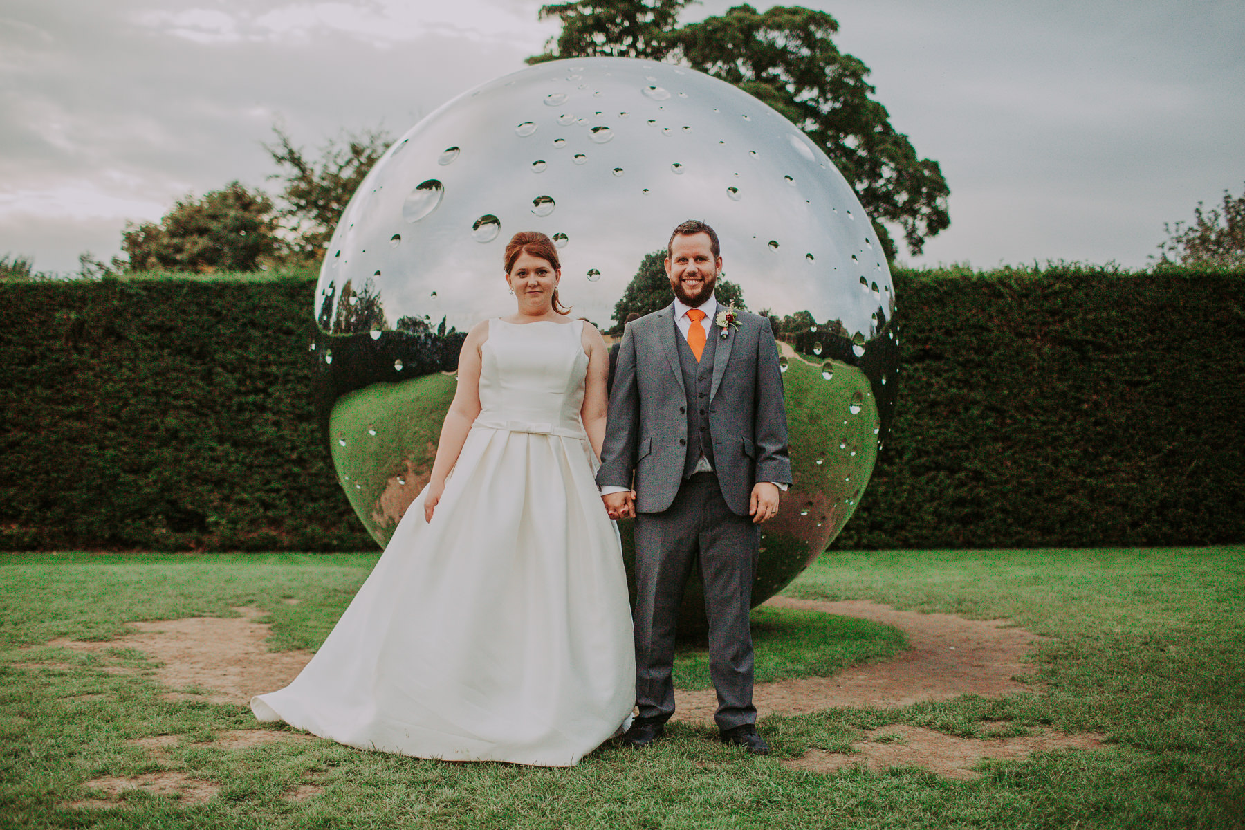 Laura & Adam | Yorkshire Sculpture Park Wedding 66