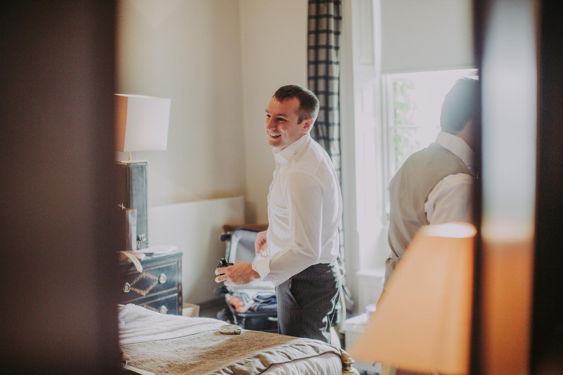 Meg & Jon | Wood Hall Hotel Wedding 287
