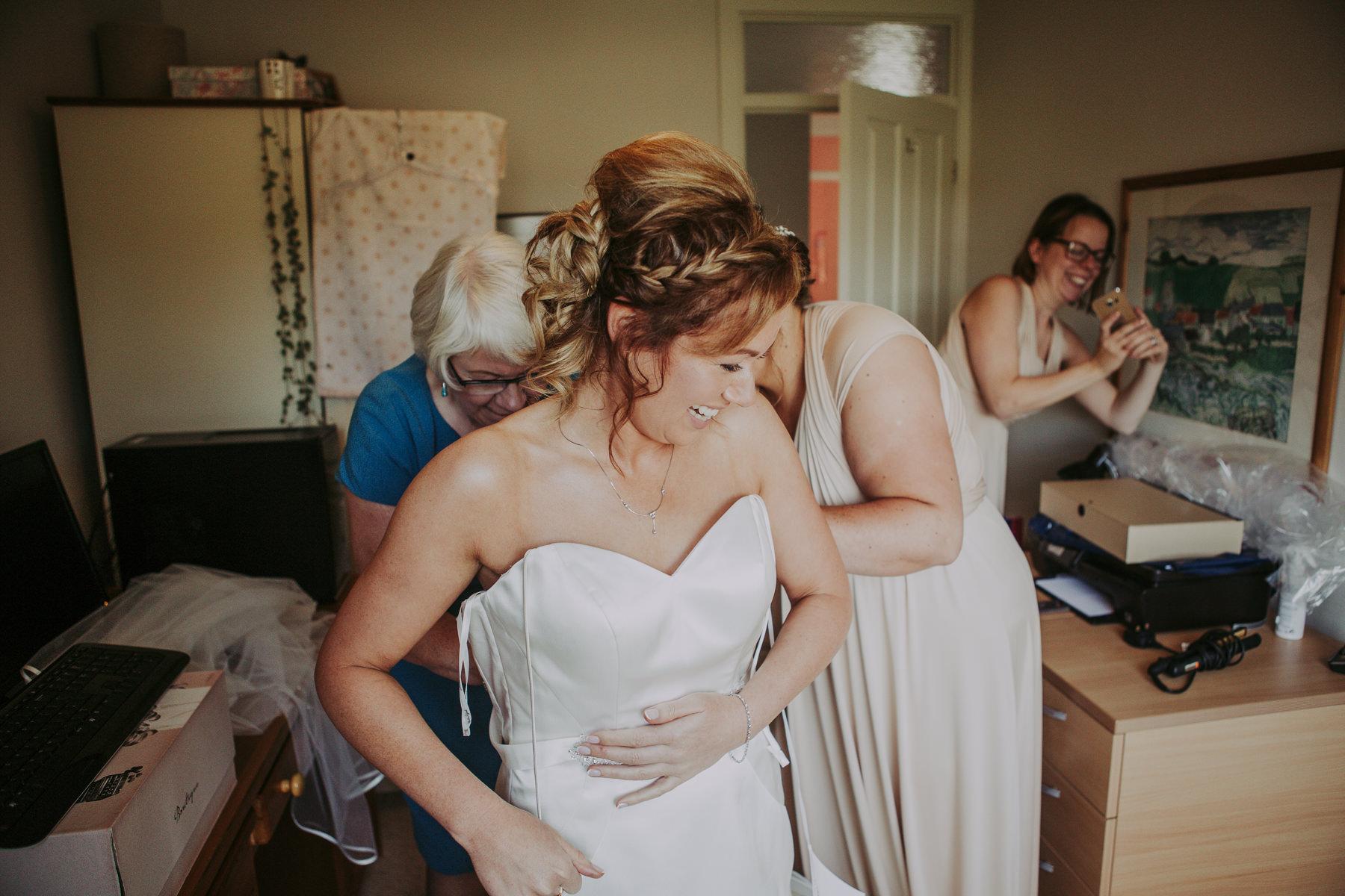 Meg & Jon | Wood Hall Hotel Wedding 291