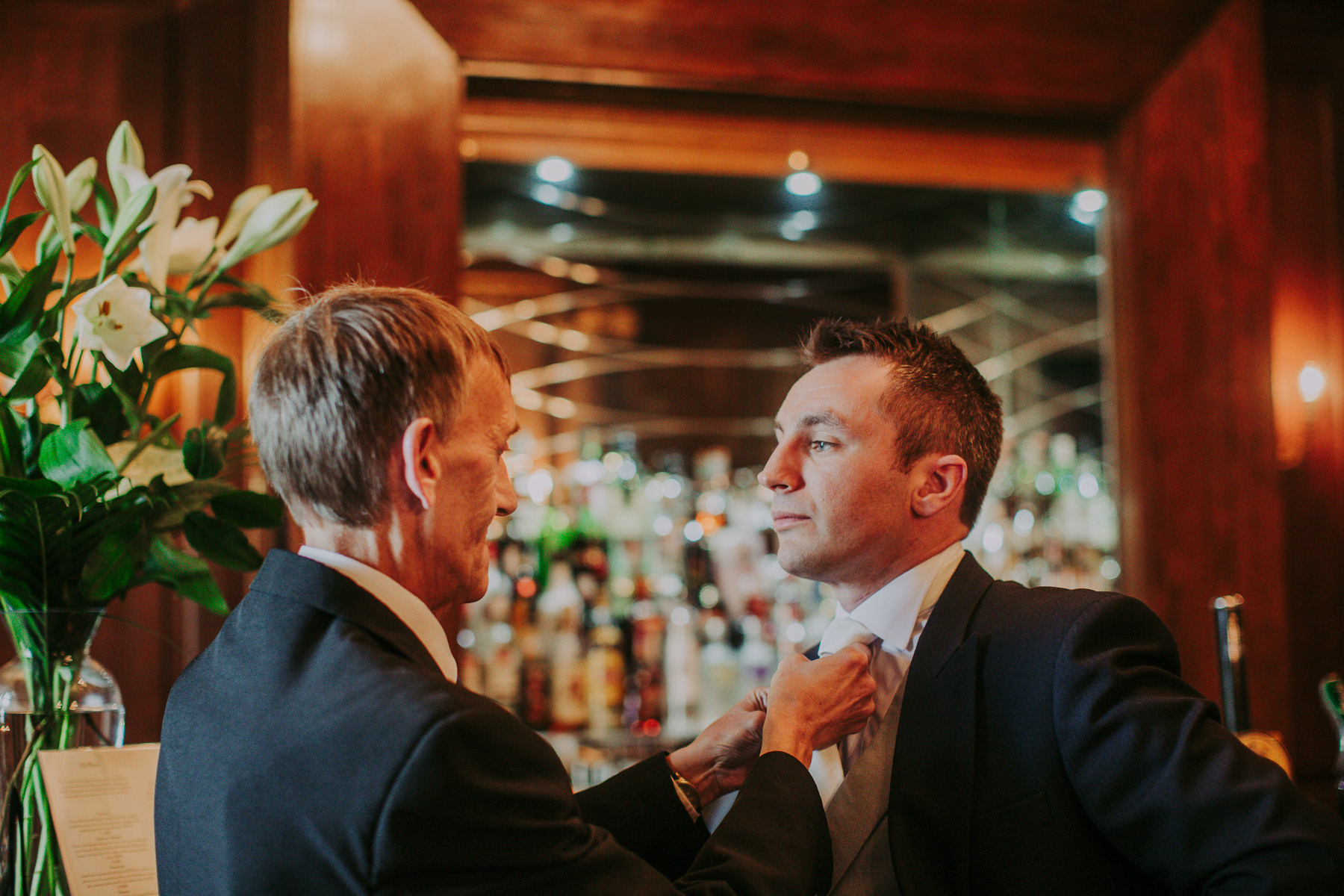 Meg & Jon | Wood Hall Hotel Wedding 296