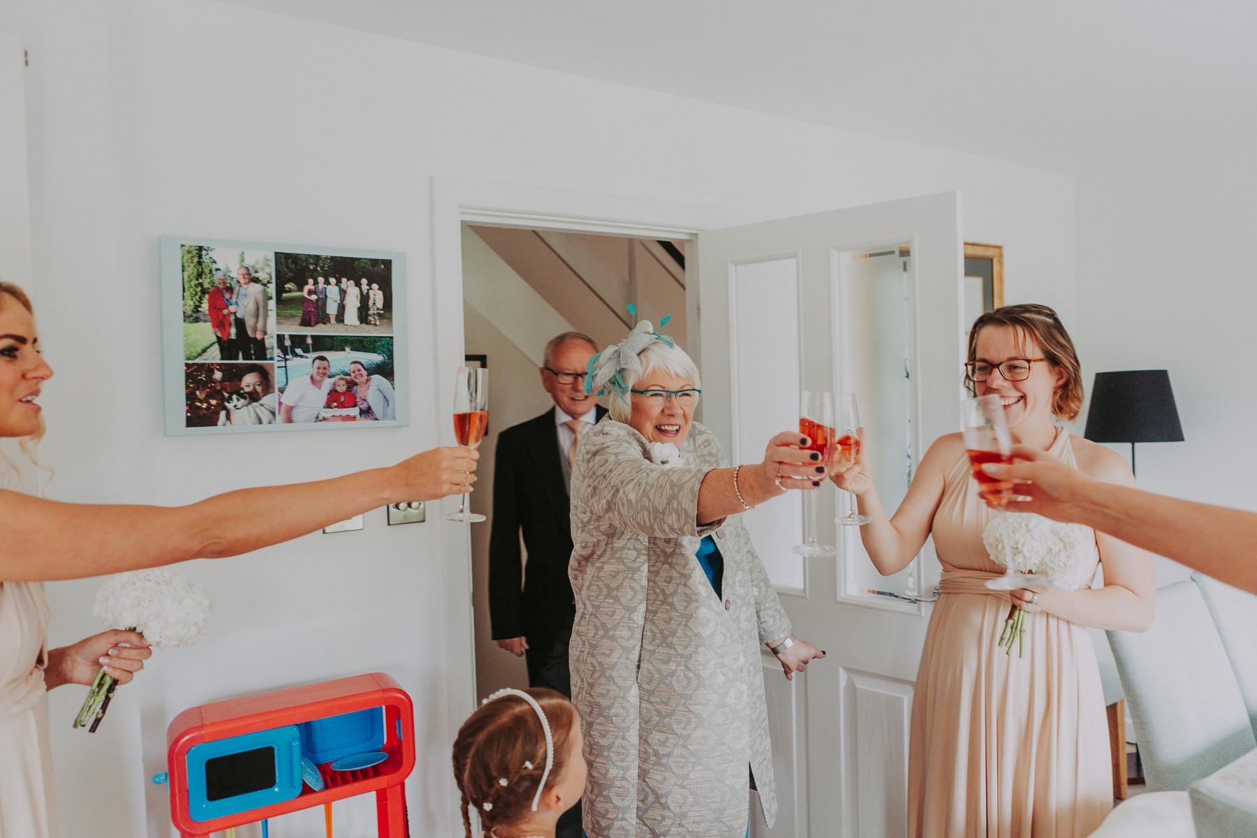Meg & Jon | Wood Hall Hotel Wedding 313