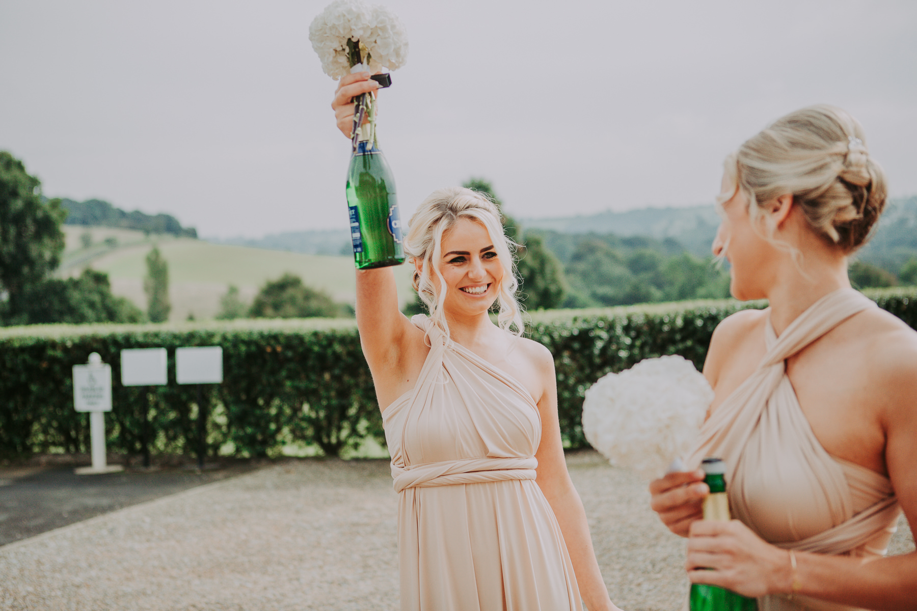 Meg & Jon | Wood Hall Hotel Wedding 316