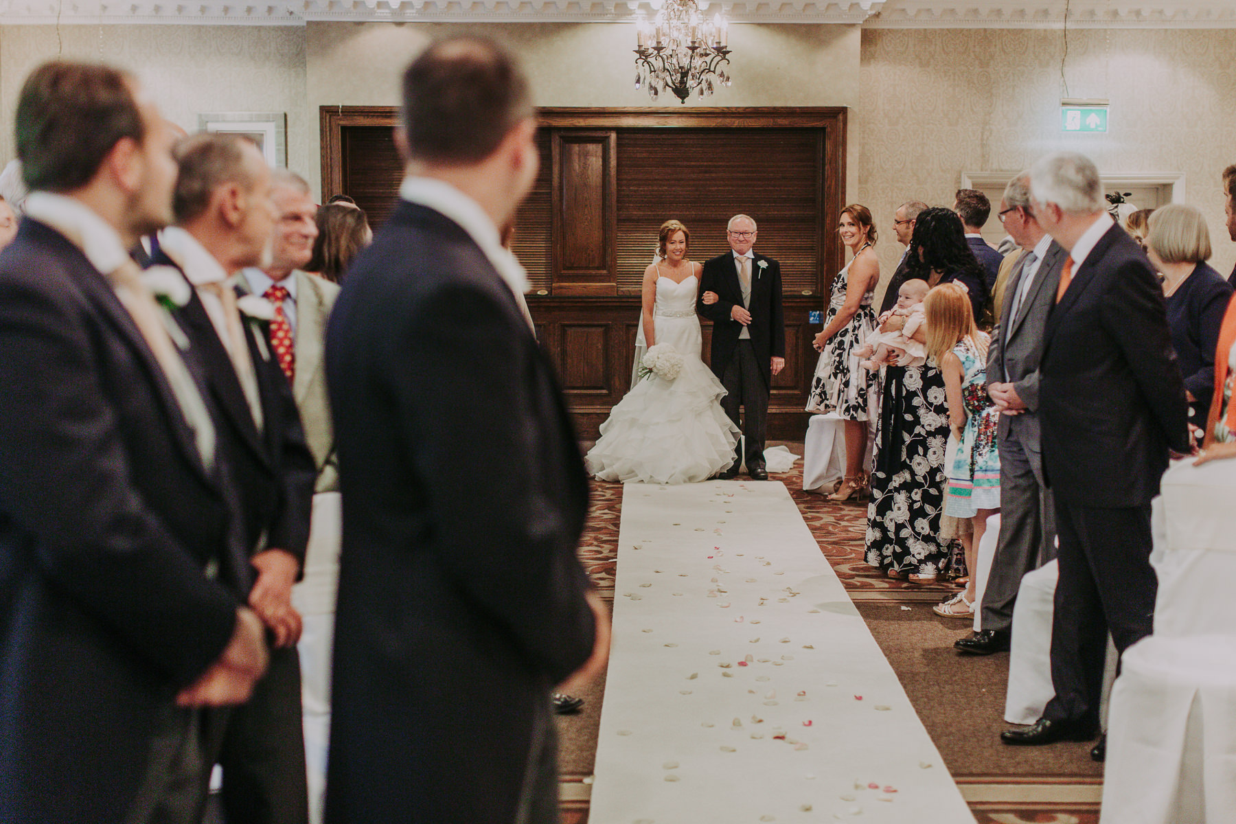 Meg & Jon | Wood Hall Hotel Wedding 319
