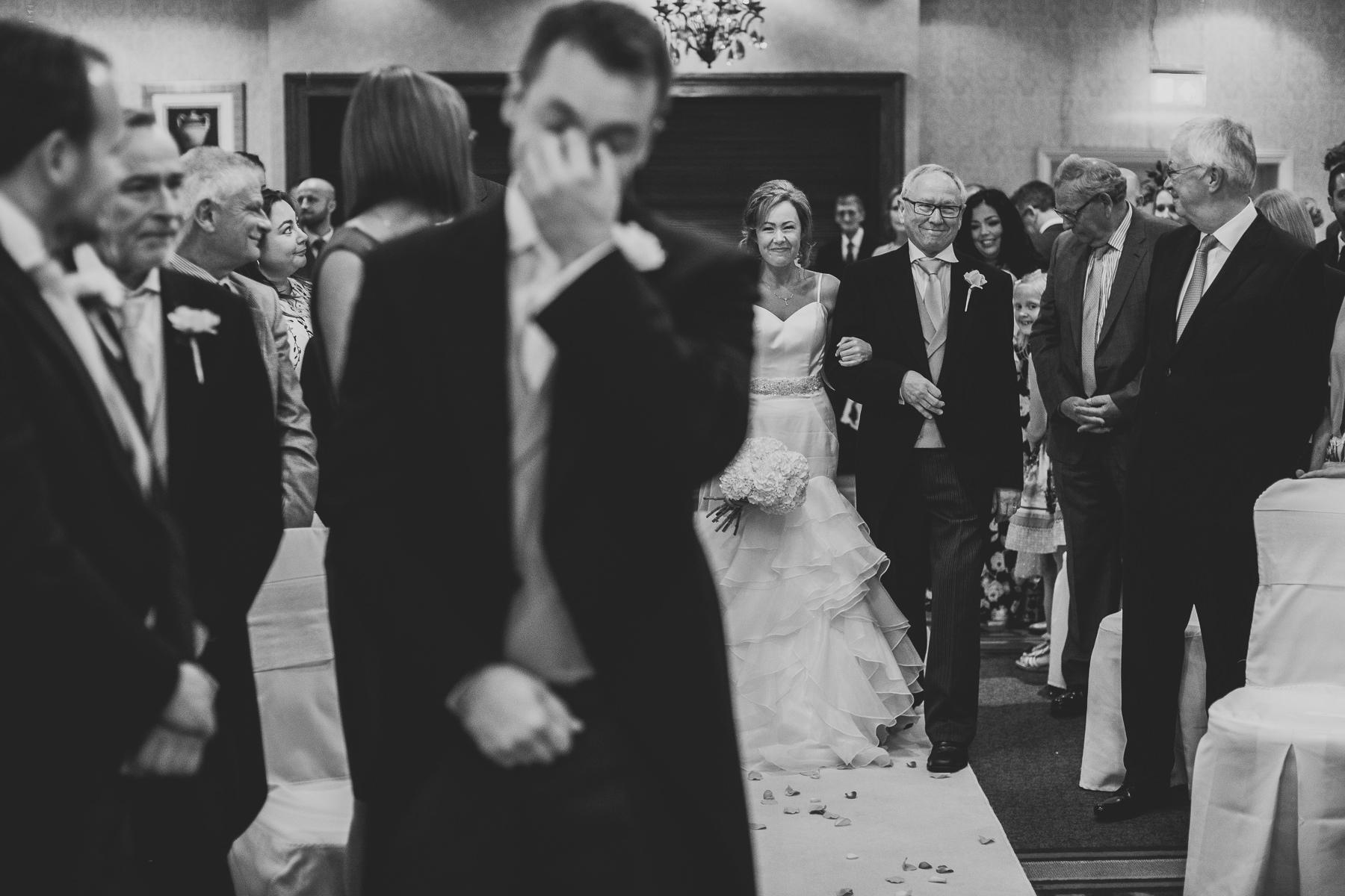 Meg & Jon | Wood Hall Hotel Wedding 320