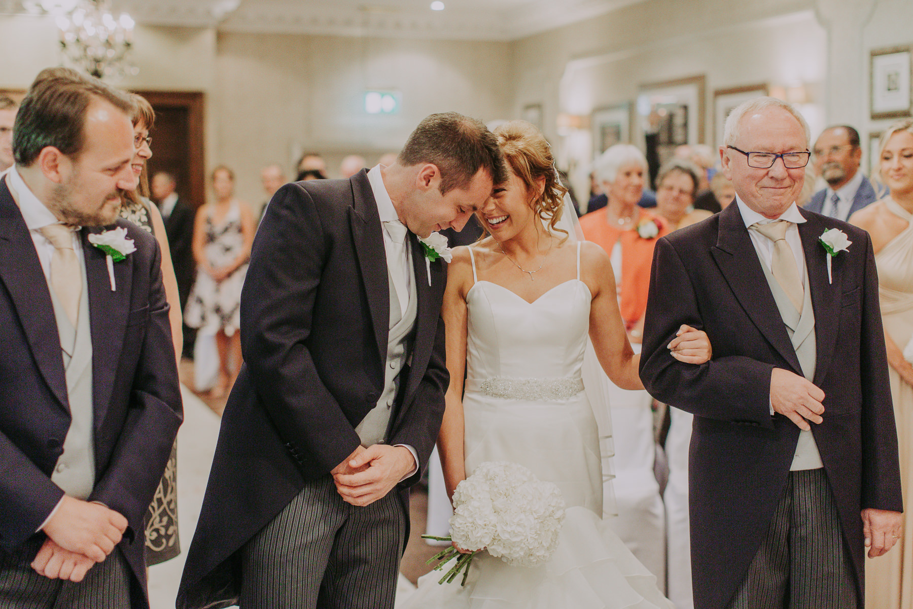 Meg & Jon | Wood Hall Hotel Wedding 321